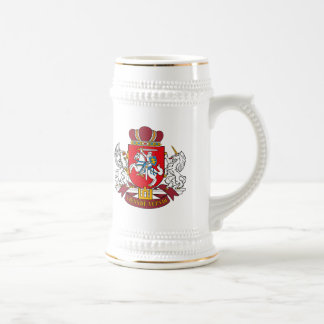 Taza del escudo de armas de Lituania
