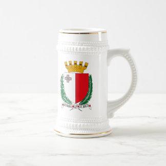 Taza del escudo de armas de Malta