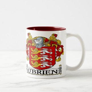 Taza del escudo de armas de O'Brien