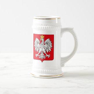 Taza del escudo de armas de Polonia