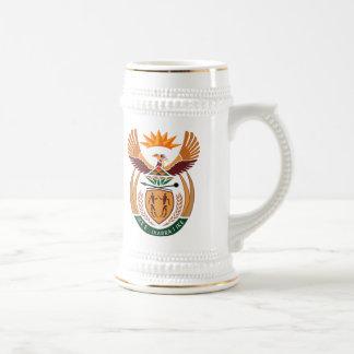 Taza del escudo de armas de Suráfrica