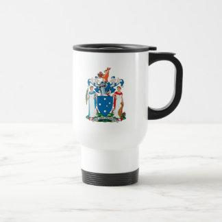 Taza del escudo de armas de Victoria