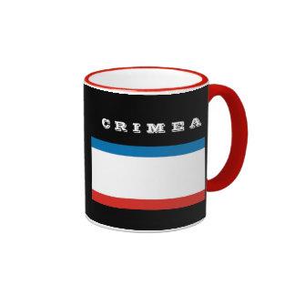 Taza del escudo de Crimea y de café de Flag*