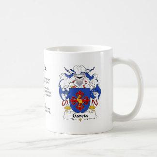 Taza del escudo de la familia de García