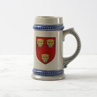 Taza del escudo de la familia de los párrocos