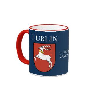 Taza del escudo de Lublin Polonia