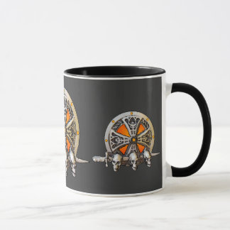 Taza del escudo de Viking