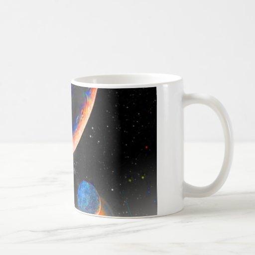 Taza del espacio de Plutón