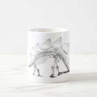 Taza del esqueleto del Stegosaurus