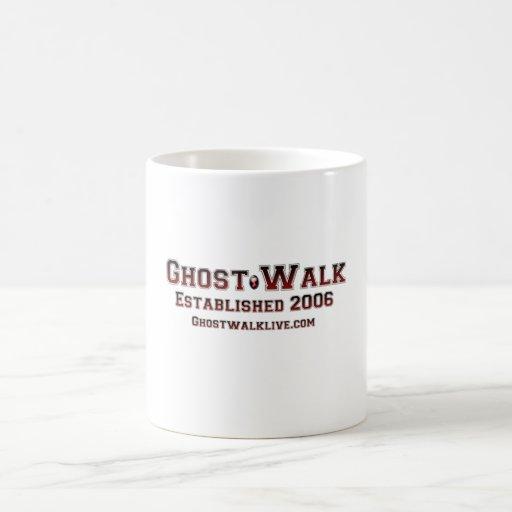 Taza del establecimiento del paseo del fantasma