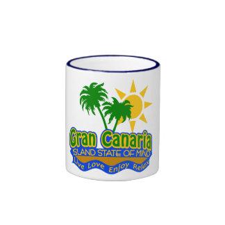 Taza del estado de ánimo de Gran Canaria - elija