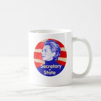Taza del estado de Hillary