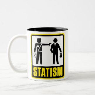 Taza del estatismo
