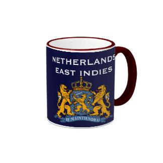 Taza del este holandesa de los indies