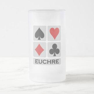 Taza del Euchre - elija el estilo y el color