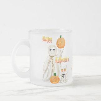 Taza del fantasma y del gatito de Ghosty