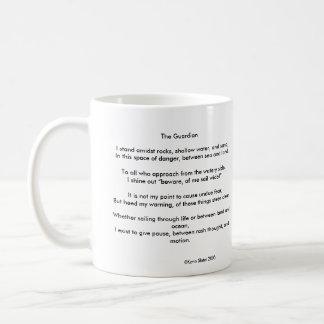 Taza del faro y de café de The Guardian