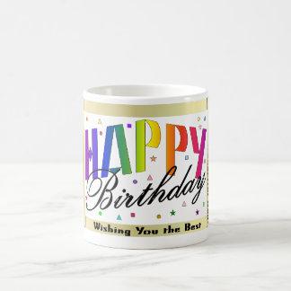 Taza del feliz cumpleaños