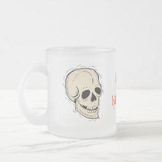 Taza del feliz Halloween del cráneo