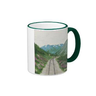 Taza del ferrocarril de Skagway