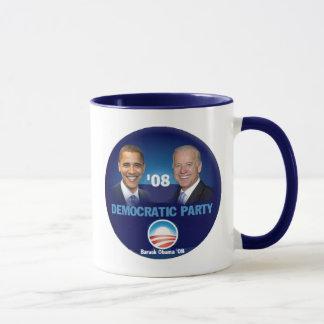 Taza del fiesta Democratic