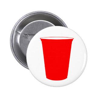 taza del fiesta pin redondo de 2 pulgadas