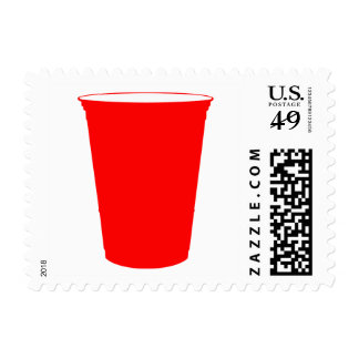 taza del fiesta timbres postales