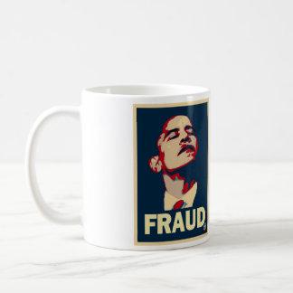 Taza del fraude de Obama - grande