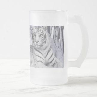 Taza del frío del tigre siberiano