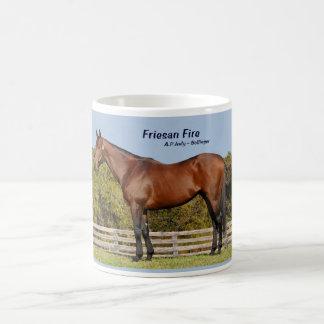 Taza del fuego de Friesan