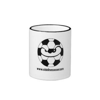 Taza del fútbol de la línea lateral