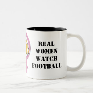 Taza del fútbol del reloj de las mujeres reales