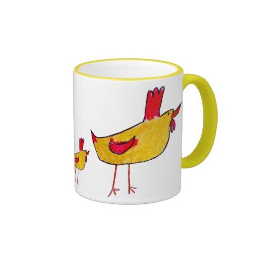 Taza del gallo