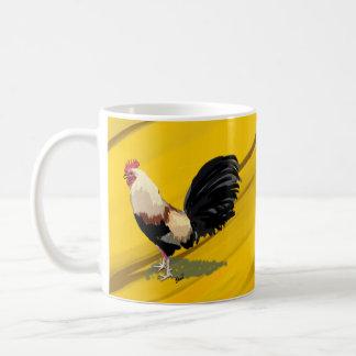 Taza del gallo de pelea