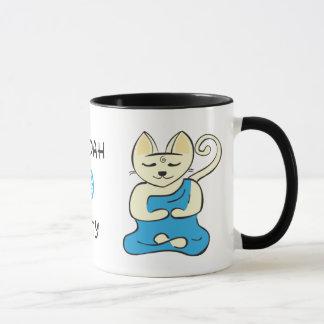 Taza del gatito de Buda