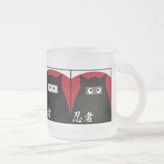Taza del gatito de Ninja