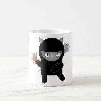 taza del gatito del ninja