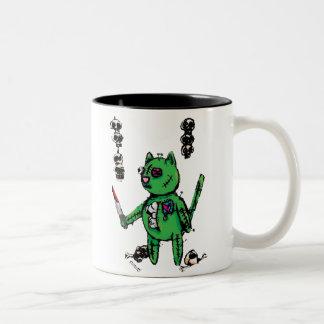 Taza del gatito del vudú