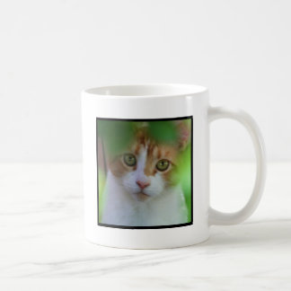 Taza del gato de Tabby de Otange