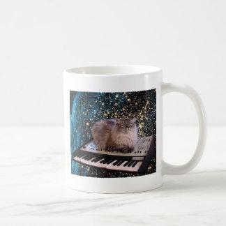 taza del gato del espacio