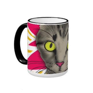 Taza del gato del Estallido-Arte
