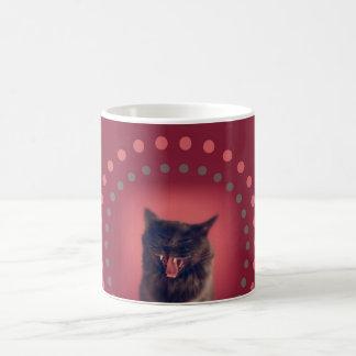 taza del gato del Suposición-asno