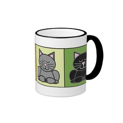 Taza del gato del zen