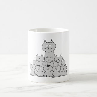 Taza del gato y de los gatitos de Momma