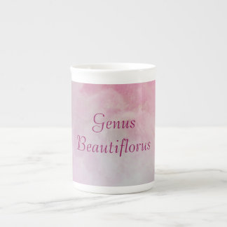 "Taza del ""género Beautiflorus"" Taza De Porcelana"