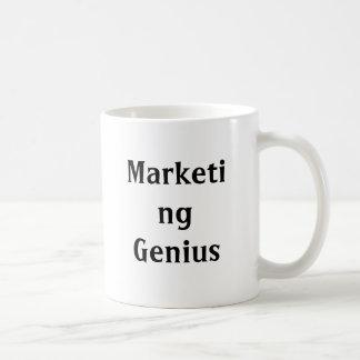 Taza del genio del márketing