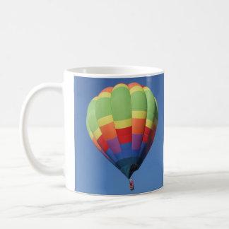 Taza del globo del aire caliente de la elevación