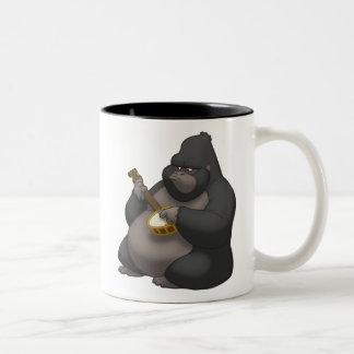 Taza del gorila del Banjo-Strummin'