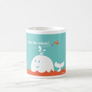 Taza del gorjeo - ballena estúpida del fall -