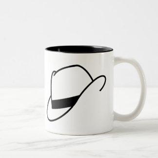 Taza del gorra de Fedora